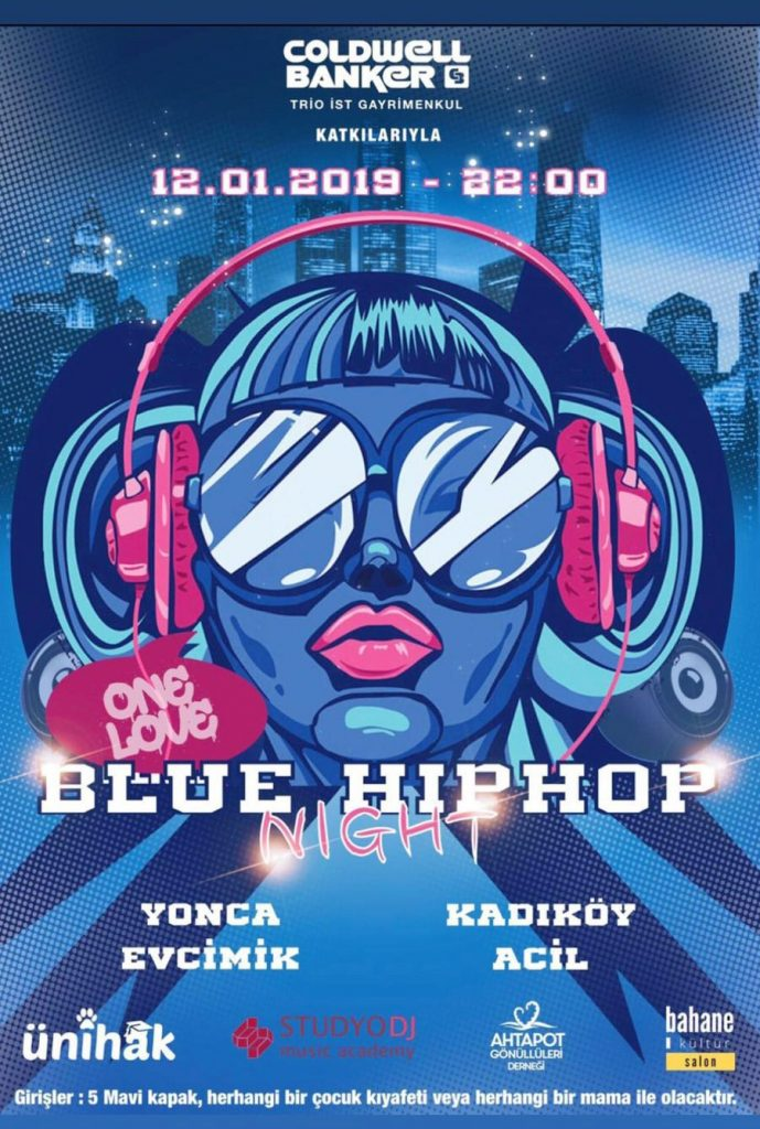 Blue Hiphop Night