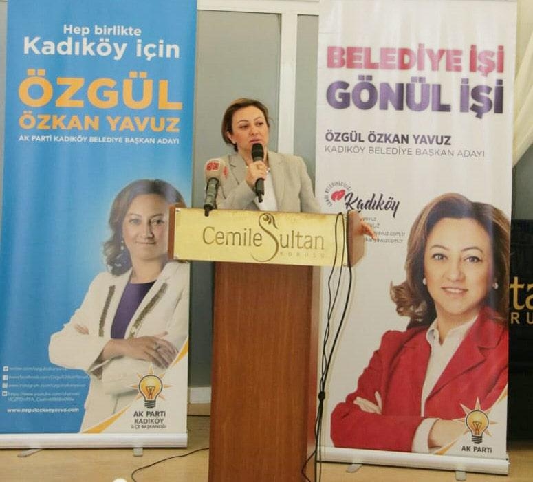 kadıdköy belediye başkan adayı özgül özkan yavuz