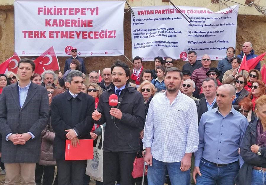 Vatan Partisi Kadıköy Belediye Başkan Adayı Osman Erbil
