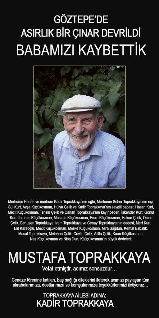 Mustafa Toprakkaya