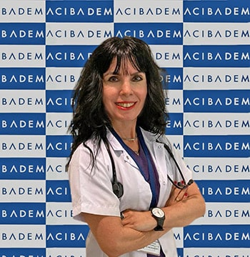 Acıbadem Kadıköy Hastanesi İç Hastalıkları Uzmanı Prof. Dr. Berrin Karadağ